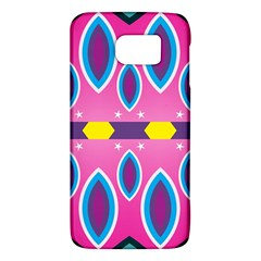 Ovals and stars                                                   			Samsung Galaxy S6 Hardshell Case