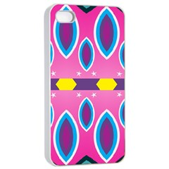 Ovals and stars                                                   Apple iPhone 4/4s Seamless Case (White)