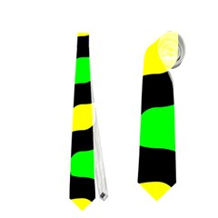 Yellow green shapes                                                     Necktie