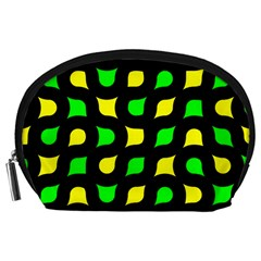 Yellow green shapes                                                     Accessory Pouch