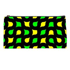 Yellow green shapes                                                     Pencil Case