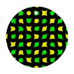 Yellow green shapes                                                     Ornament (Round)