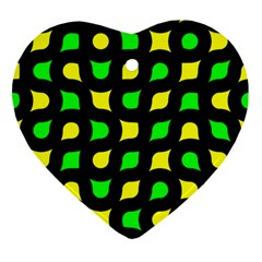 Yellow green shapes                                                     Ornament (Heart)
