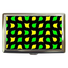 Yellow green shapes                                                     Cigarette Money Case