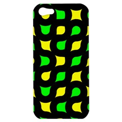 Yellow green shapes                                                    			Apple iPhone 5 Hardshell Case