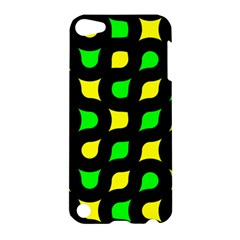 Yellow green shapes                                                    			Apple iPod Touch 5 Hardshell Case