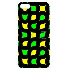Yellow Green Shapes                                                    apple Iphone 5 Hardshell Case With Stand