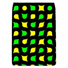 Yellow green shapes                                                    			Removable Flap Cover (S)