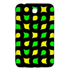 Yellow green shapes                                                    			Samsung Galaxy Tab 3 (7 ) P3200 Hardshell Case