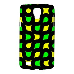 Yellow green shapes                                                    			Samsung Galaxy S4 Active (I9295) Hardshell Case