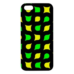 Yellow green shapes                                                    			iPhone 5S Premium Hardshell Case