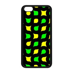 Yellow green shapes                                                    			Apple iPhone 5C Seamless Case (Black)