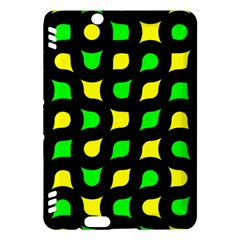 Yellow green shapes                                                    Kindle Fire HDX Hardshell Case