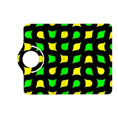 Yellow green shapes                                                    Kindle Fire HD (2013) Flip 360 Case