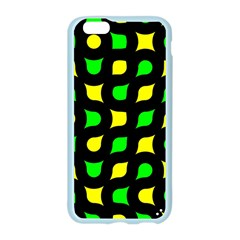 Yellow green shapes                                                    Apple Seamless iPhone 6/6S Case (Color)