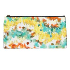 Retro watercolors                                                      	Pencil Case