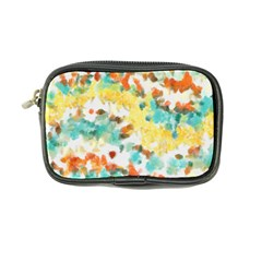 Retro watercolors                                                      	Coin Purse