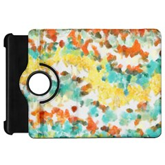 Retro watercolors                                                     			Kindle Fire HD Flip 360 Case