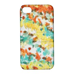 Retro watercolors                                                     			Apple iPhone 4/4S Hardshell Case with Stand