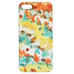 Retro watercolors                                                     			Apple iPhone 5 Hardshell Case with Stand
