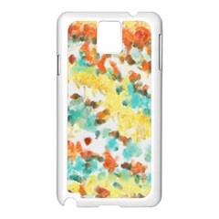 Retro watercolors                                                     			Samsung Galaxy Note 3 N9005 Case (White)