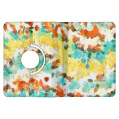 Retro watercolors                                                     			Kindle Fire HDX Flip 360 Case