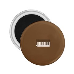 Keyboard Brown 2.25  Magnets