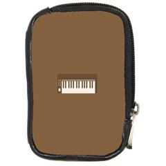 Keyboard Brown Compact Camera Cases