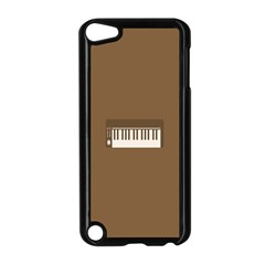 Keyboard Brown Apple iPod Touch 5 Case (Black)