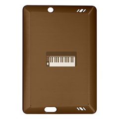 Keyboard Brown Amazon Kindle Fire HD (2013) Hardshell Case