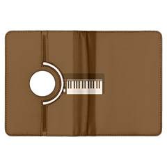 Keyboard Brown Kindle Fire HDX Flip 360 Case