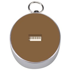Keyboard Brown Silver Compasses
