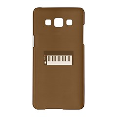 Keyboard Brown Samsung Galaxy A5 Hardshell Case