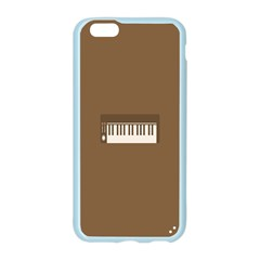 Keyboard Brown Apple Seamless iPhone 6/6S Case (Color)