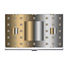Gold Silver Carpet Business Card Holders