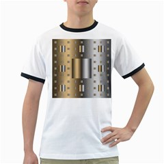 Gold Silver Carpet Ringer T-Shirts