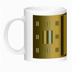 Gold Silver Carpet Night Luminous Mugs
