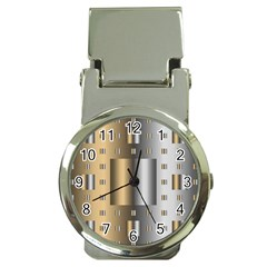 Gold Silver Carpet Money Clip Watches