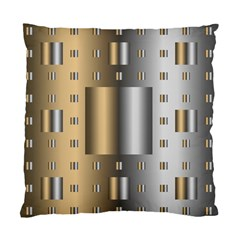 Gold Silver Carpet Standard Cushion Case (One Side)