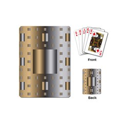 Gold Silver Carpet Playing Cards (Mini)