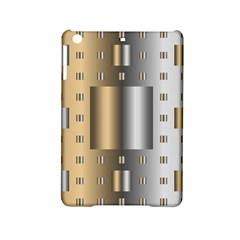 Gold Silver Carpet iPad Mini 2 Hardshell Cases