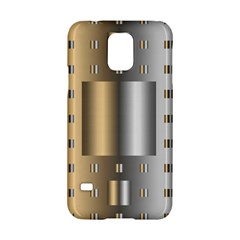 Gold Silver Carpet Samsung Galaxy S5 Hardshell Case