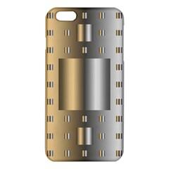 Gold Silver Carpet iPhone 6 Plus/6S Plus TPU Case
