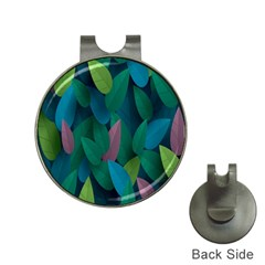 Leaf Rainbow Hat Clips with Golf Markers