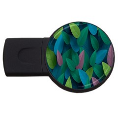 Leaf Rainbow USB Flash Drive Round (4 GB)