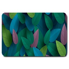 Leaf Rainbow Large Doormat