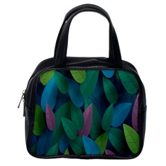 Leaf Rainbow Classic Handbags (One Side)