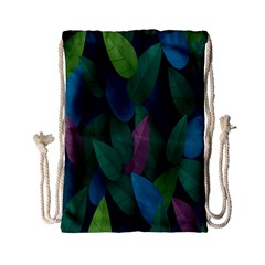 Leaf Rainbow Drawstring Bag (Small)