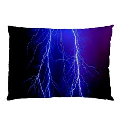 Lightning Electricity Elements Danger Night Lines Patterns Ultra Pillow Case
