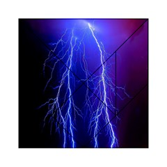 Lightning Electricity Elements Danger Night Lines Patterns Ultra Acrylic Tangram Puzzle (6  x 6 )